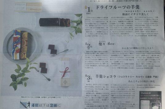 日本経済新聞「NIKKEIプラス1」に掲載されました。
